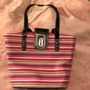 Fun Striped Kate Spade Small Tote